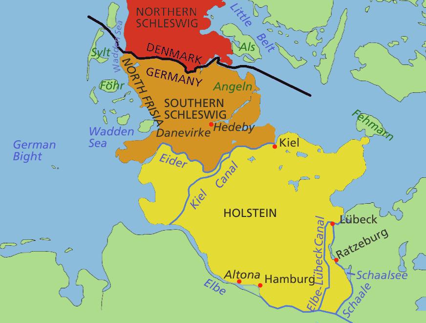 Schleswig Maps