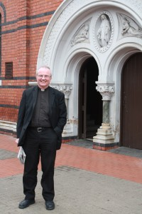 Bishop Donal McKeown. Photo Elin Larsson