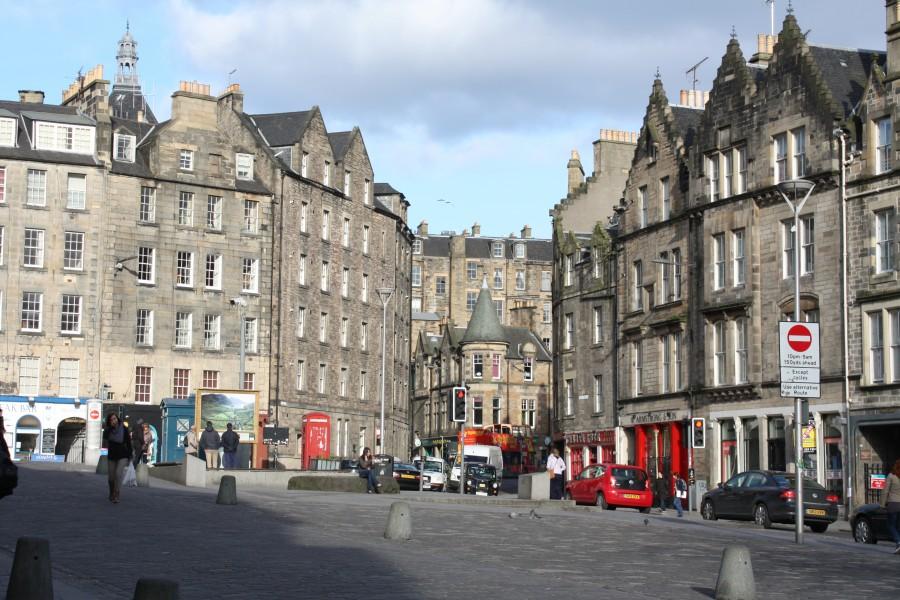 Edinburgh city. Photo Elin Larsson