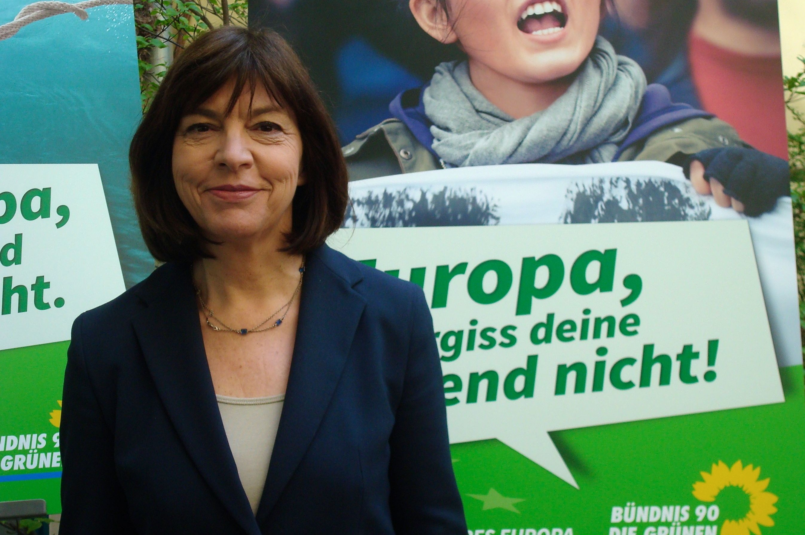 MEP Rebecca Harms is the co-chair of the European Greens in Germany. She was first elected to the European Parliament in 2004.